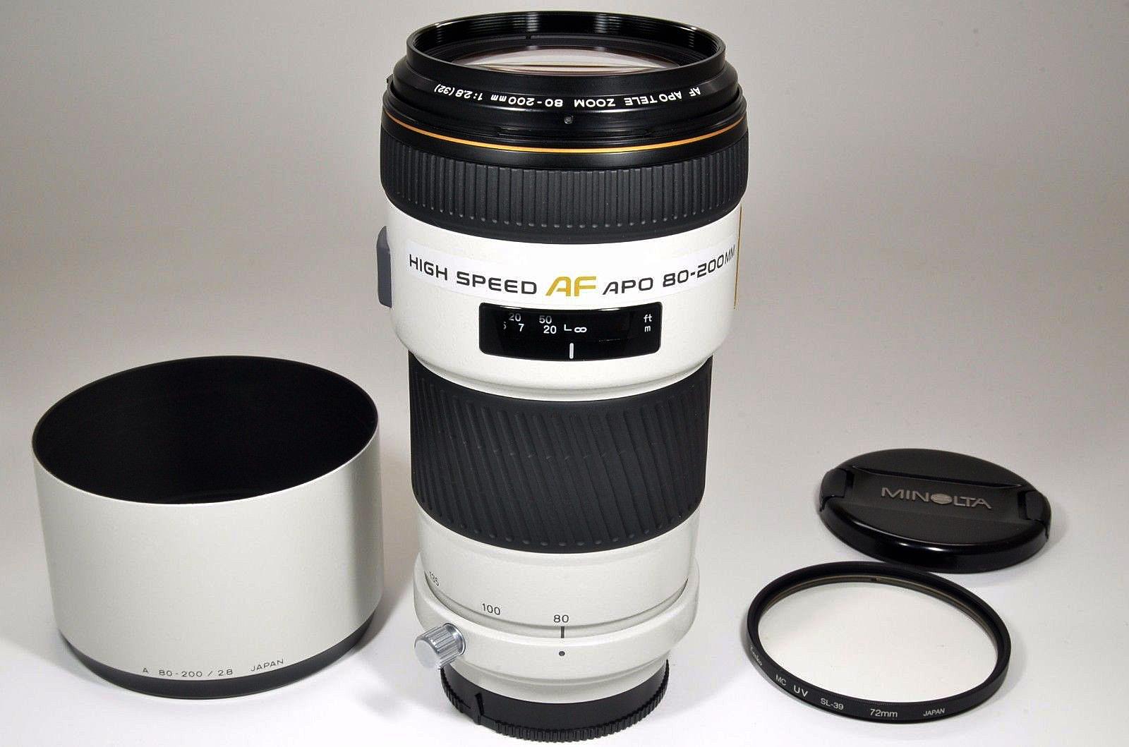 How to do Sports Photography Minolta APO Lens