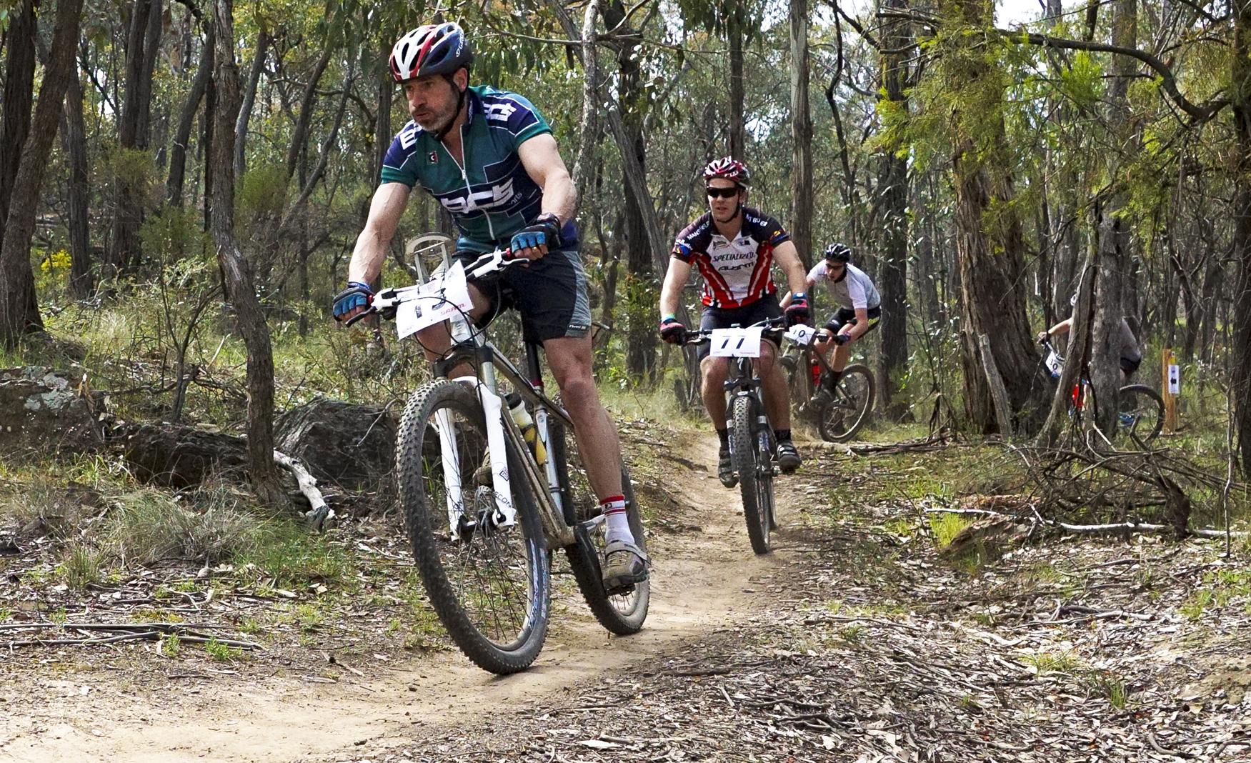 How to do Sports Photography Mountain Bikes Start