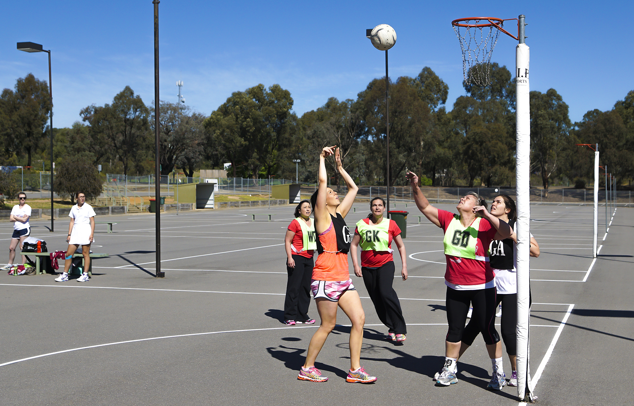 How to do Sports Photography Netball One