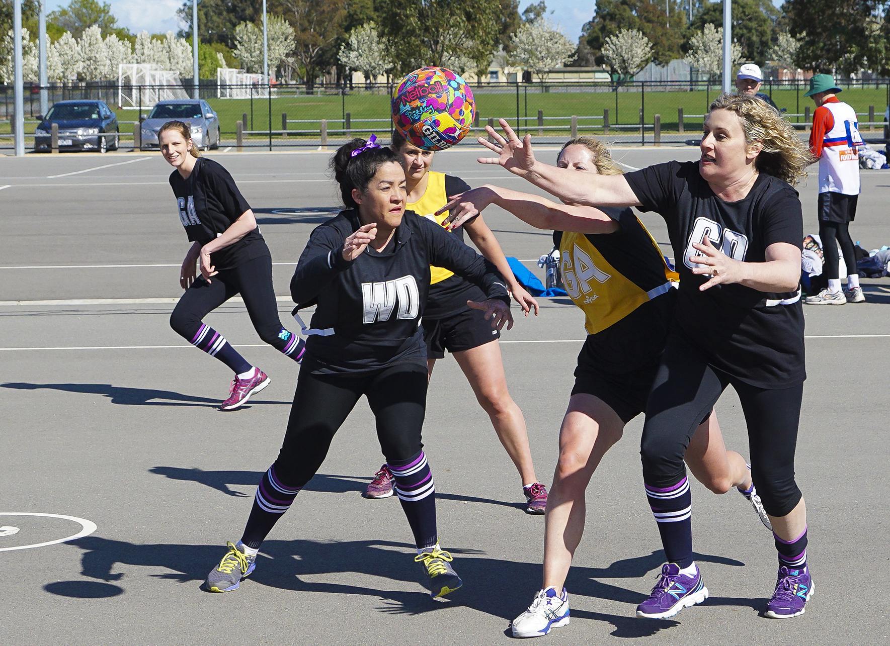 How to do Sports Photography Netball Two