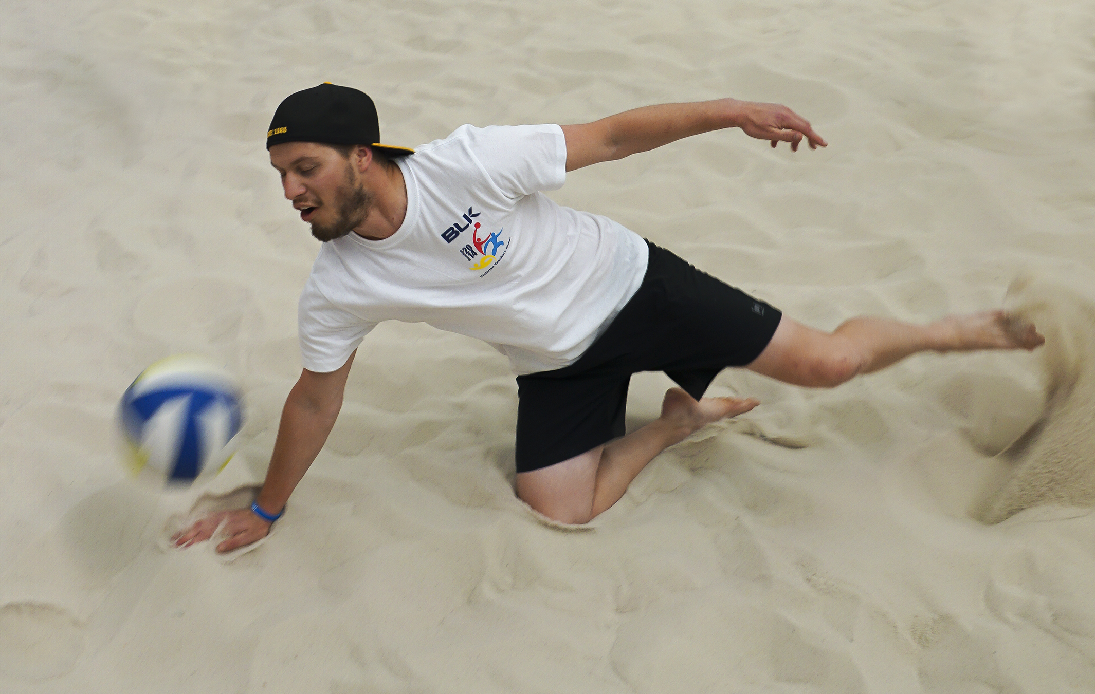 How to do Sports Photography Blurred Volleyball