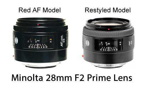 Minolta 28mm F2 Prime Lens 16