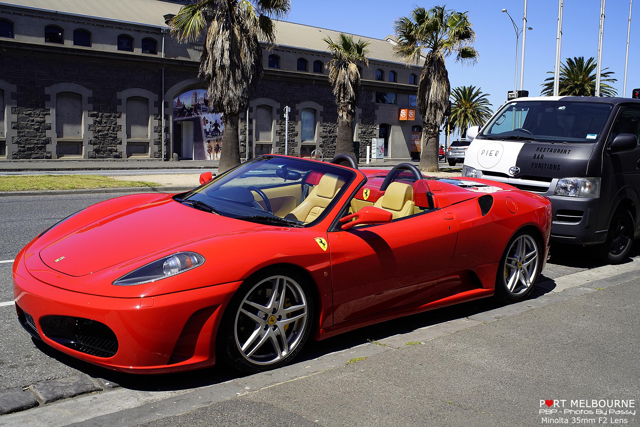Minolta 35mm F2 Prime Lens Ferrari 14