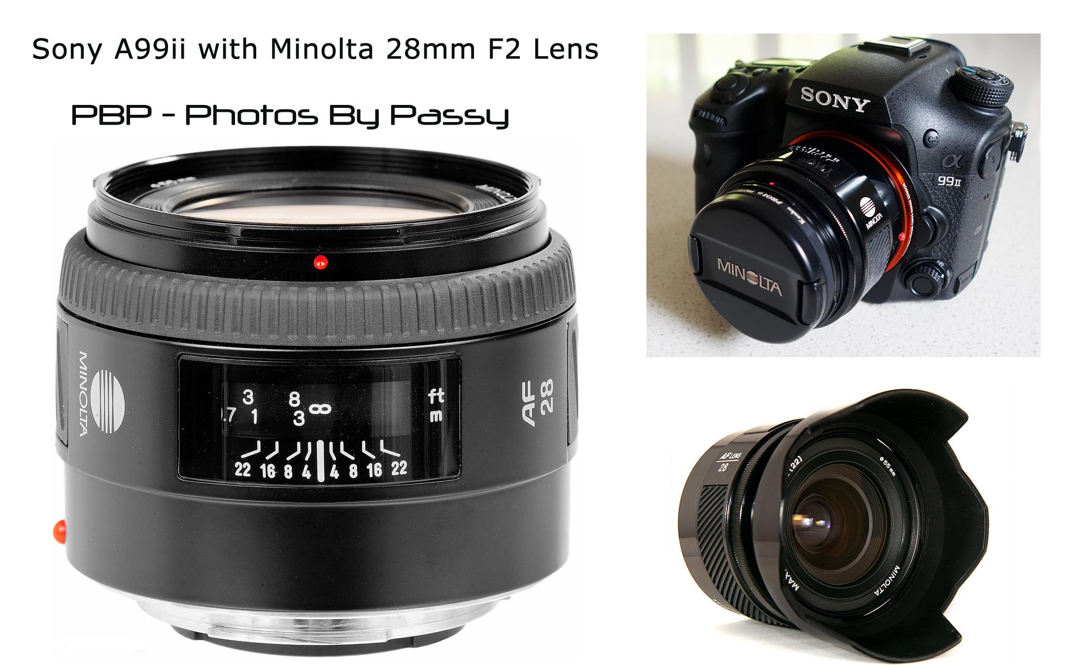 Minolta Prime Lenses A99II 17