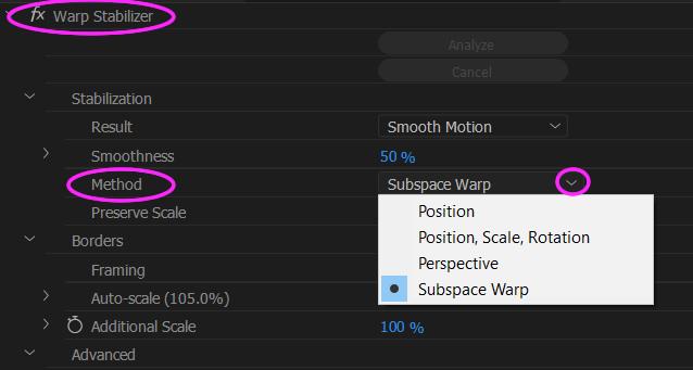 How to Warp Stabilize 04