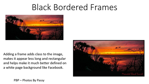 How to Photoshop Borders and Frames 01
